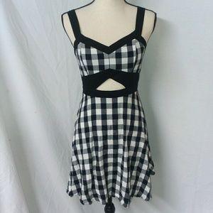 Charlotte Russell Cut Out Dress Size Medium
